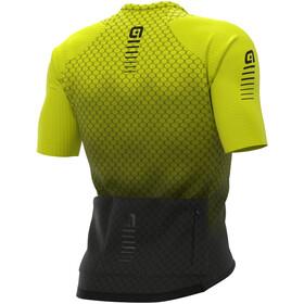 Alé Cycling R-EV1 Velocity Graphene SS Jersey Men, negro/amarillo